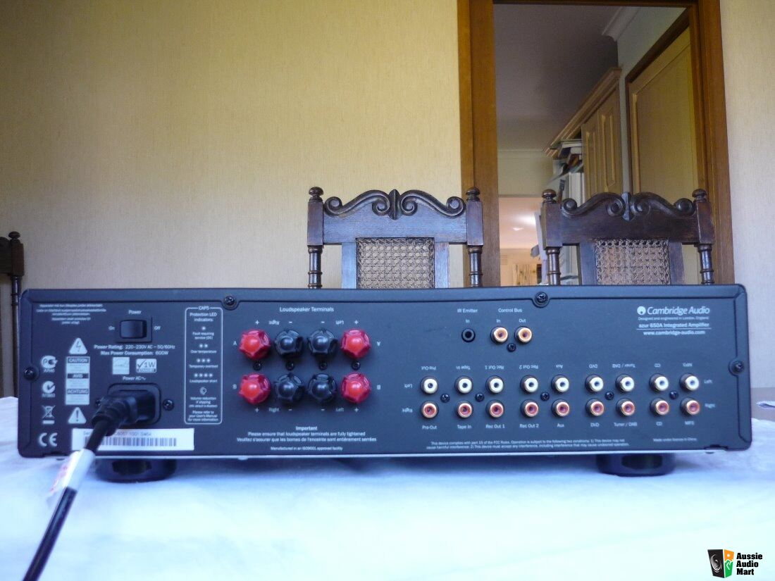 cambridge audio azur 650a manual